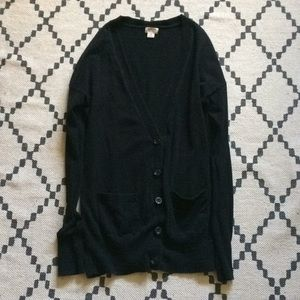 Mossimo Supply Co Black Cardigan